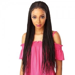 Sensationnel Synthetic Cloud 9 Swiss Lace Wig - Fulani Cornrow