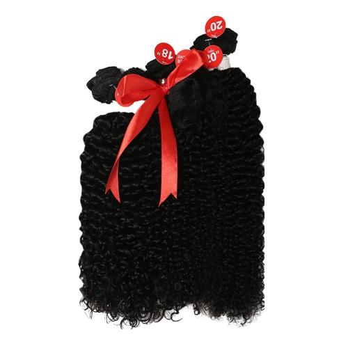 Queen Hair Brazilian Remy Human Hair Weave 3Bundles Bohemian