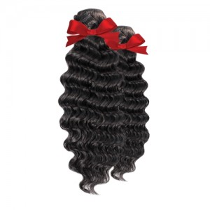 Queen Hair Brazilian Remy Human Hair Weave 3Bundles Loose Deep