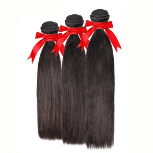 Queen Hair Brazilian Remy Human Hair Weave 3Bundles Straight