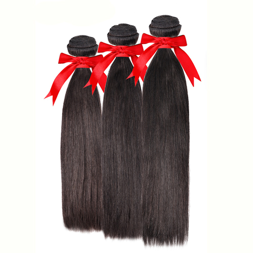 Queen Hair Brazilian Remy Human Hair Weave 3Bundles Straight