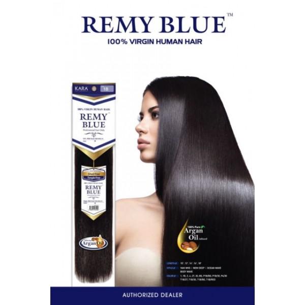 Kara Remy Blue 100 Virgin Human Hair Weave 10 24
