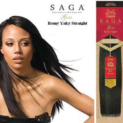 SAGA 100% REMY HUMAN HAIR WEAVING 10~18  Inch