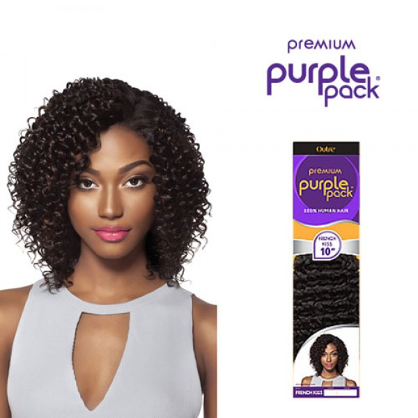 Outre Human Hair Weave Premium Purple Pack French Kiss