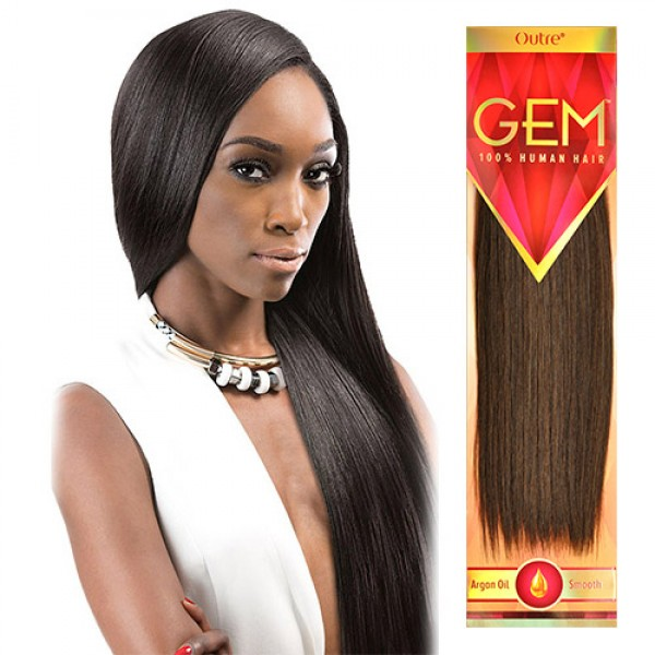 Outre 100 Human Hair Weave Gem Yaki 818