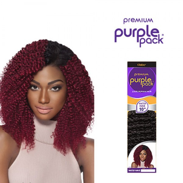 Outre Human Hair Weave Premium Purple Pack Water Wave