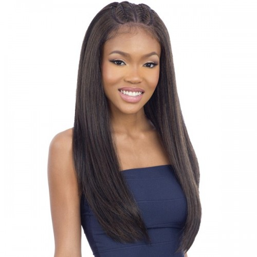 Mayde Beauty Synthetic Pre Braided Lace Front Wig - CECE