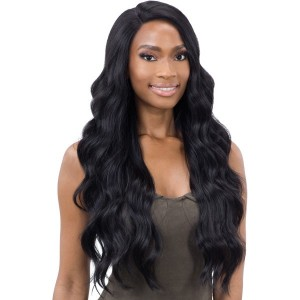 "Mayde Beauty Synthetic 5"" Lace and Lace Front Wig - HOLLY"