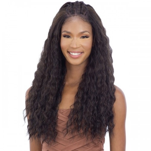 Mayde Beauty Synthetic Pre Braided Lace Front Wig - IRIS