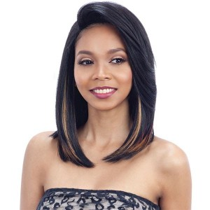 Model Model Synthetic Over Bang 5 Inch Lace Part Wig - FABIA