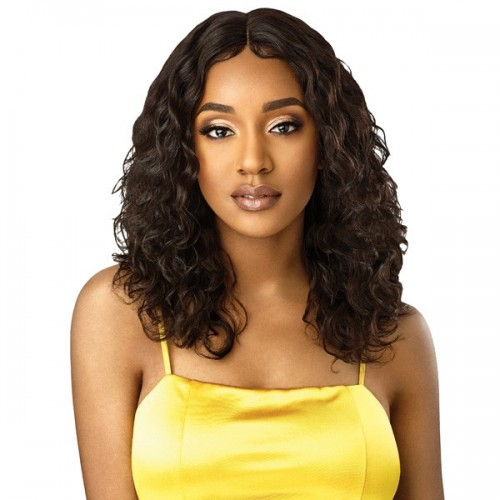 "My Tresses Gold Label Lace Front Wig Natural Curly 20""~22"""