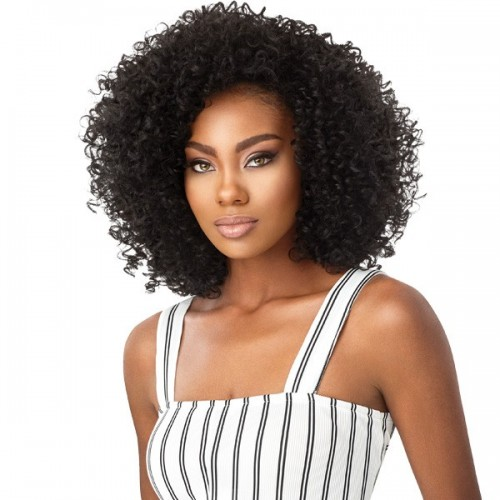 Outre Synthetic Big Beautiful Hair Half Wig 3A PASSION CURL