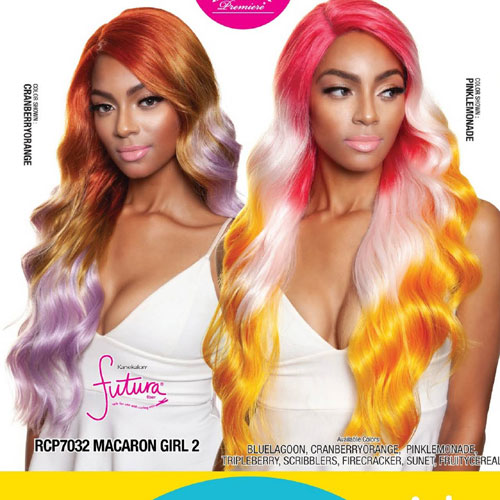 Mane Concept Lace Front Wig - RCP7032 MACARON GIRL 2