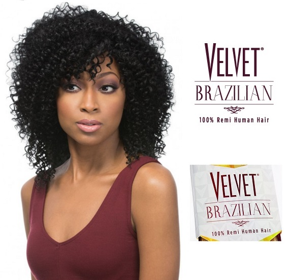 Outre Velvet Brazilian Remy Human Hair Weave Bohemian 1014